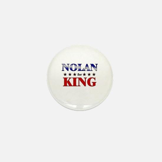 NOLAN for king Mini Button
