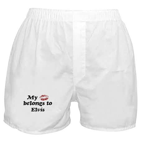 Kiss Belongs to Elvis Boxer Shorts