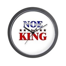 NOE for king Wall Clock