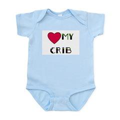 LOVE MY CRIB Infant Creeper