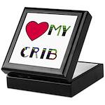 LOVE MY CRIB Keepsake Box