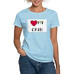 LOVE MY CRIB Women's Pink T-Shirt