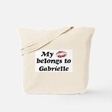 Kiss Belongs to Gabrielle Tote Bag