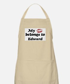 Kiss Belongs to Edward BBQ Apron