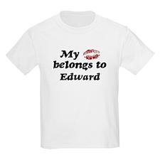 Kiss Belongs to Edward T-Shirt