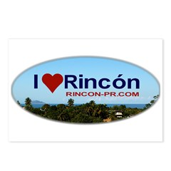 Rincon Oval Logo Postcards (Package of 8)