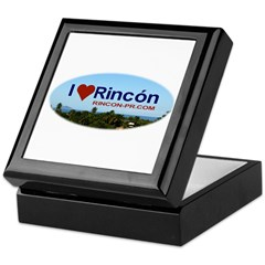 Rincon Oval Logo Keepsake Box