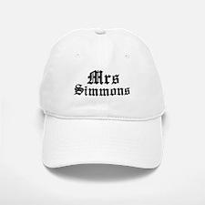 Mrs Simmons Baseball Baseball Cap