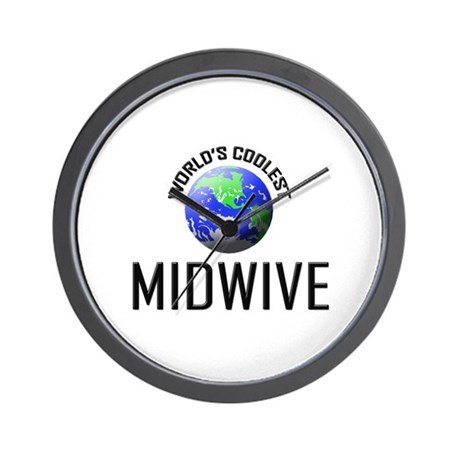 World's Coolest MIDWIVE Wall Clock