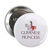 "Guyanese Princess 2.25"" Button"
