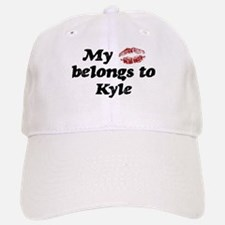 Kiss Belongs to Kyle Baseball Baseball Cap