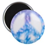 10 Watercolor Peace Sign Magnets