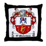 O'Mulvihill Family Crest Throw Pillow