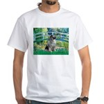 Bridge / Keeshond White T-Shirt