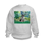 Bridge / Keeshond Kids Sweatshirt