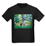 Bridge / Keeshond Kids Dark T-Shirt
