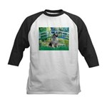 Bridge / Keeshond Kids Baseball Jersey