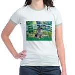 Bridge / Keeshond Jr. Ringer T-Shirt