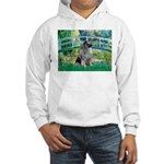 Bridge / Keeshond Hooded Sweatshirt