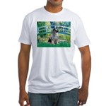 Bridge / Keeshond Fitted T-Shirt