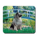 Bridge / Keeshond Mousepad