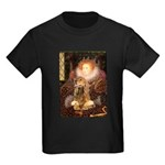Queen / Cocker Spaniel (br) Kids Dark T-Shirt