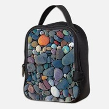 Beach Rocks Neoprene Lunch Bag