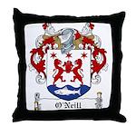 O'Neill Family Crest Throw Pillow