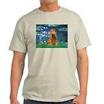 Lilies (5)/Cocker (br) Light T-Shirt