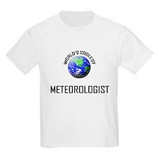 World's Coolest METEOROLOGIST T-Shirt
