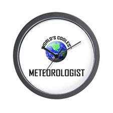 World's Coolest METEOROLOGIST Wall Clock