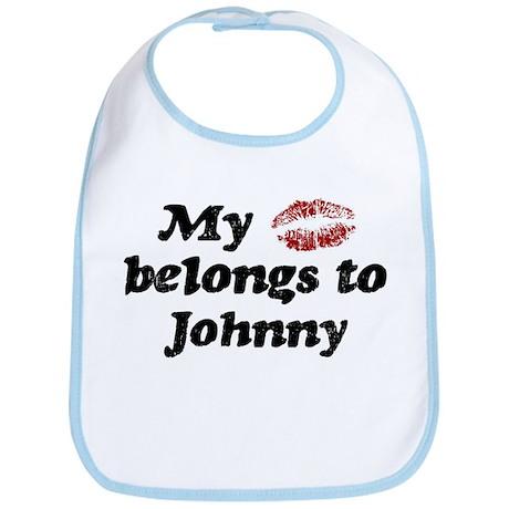 Kiss Belongs to Johnny Bib