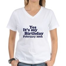 February 29th Birthday Shirt