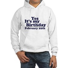 February 29th Birthday Hoodie