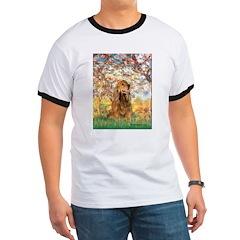 Spring /Cocker Spaniel (buff) T