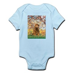 Spring /Cocker Spaniel (buff) Infant Bodysuit