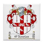 O'Nowlan Family Crest Tile Coaster