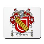 O'Quigley Family Crest Mousepad
