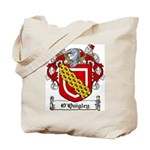 O'Quigley Family Crest Tote Bag