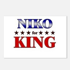 NIKO for king Postcards (Package of 8)