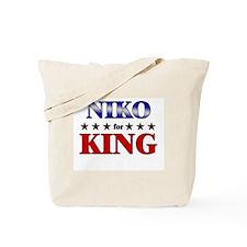 NIKO for king Tote Bag