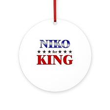 NIKO for king Ornament (Round)