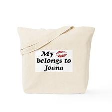 Kiss Belongs to Joana Tote Bag