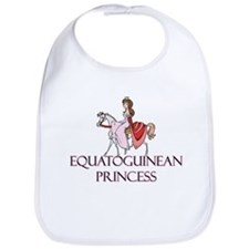 Equatoguinean Princess Bib
