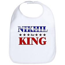 NIKHIL for king Bib
