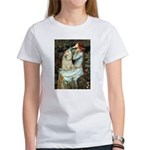 Ophelia / Cocker Spaniel (buff) Women's T-Shirt