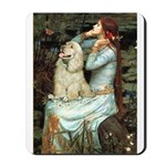 Ophelia / Cocker Spaniel (buff) Mousepad