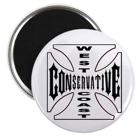 "West-Coast Conservative 2.25"" Magnet (10 pack)"