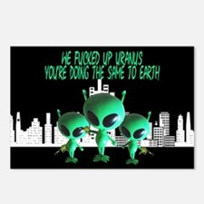 Funny Global Warming Postcards (Package of 8)