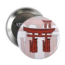 Otorii Shinto Gate Button